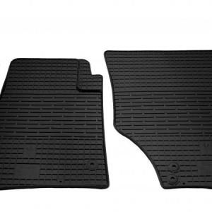 Передние автомобильные резиновые коврики Volkswagen Touareg 2002- (1024042)