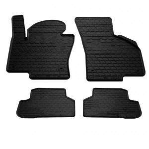 Комплект резиновых ковриков в салон автомобиля Volkswagen Passat B6 2005- (1024224)