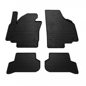 Комплект резиновых ковриков в салон автомобиля Skoda Yeti 2009- (design 2016) (1024254)