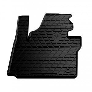 Водительский резиновый коврик Volkswagen Caddy 2015- (1024284 ПЛ)