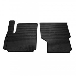 Передние автомобильные резиновые коврики Volkswagen Amarok 2009- (1024122)