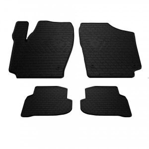 Комплект резиновых ковриков в салон автомобиля Volkswagen Polo Sedan 2009- (1024324)