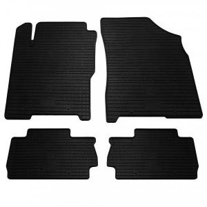 Комплект резиновых ковриков в салон автомобиля Chery A13 2008- (1026014)