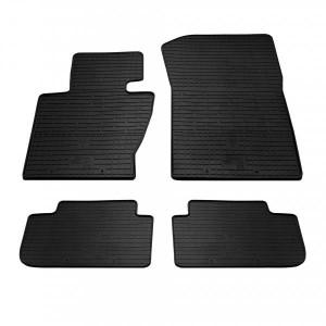 Комплект резиновых ковриков в салон автомобиля BMW X3 (E83) 2003-2010 (1027064)