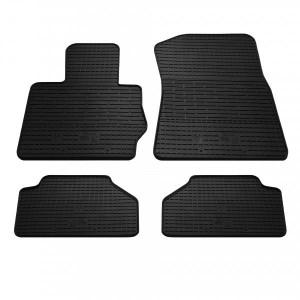 Комплект резиновых ковриков в салон автомобиля BMW X4 (F26) 2014-2018 (1027114)