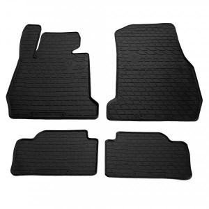 Комплект резиновых ковриков в салон автомобиля BMW 3 (F30/F31/F34) 2011-2019 (design 2016) (1027244)