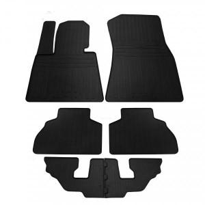 Комплект резиновых ковриков в салон автомобиля BMW X7 (G07) (6м) 2018- (1027286)