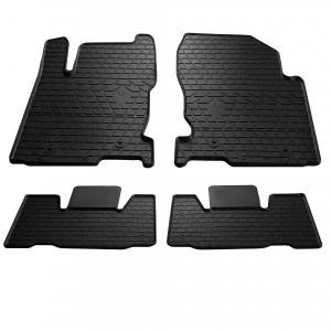 Комплект резиновых ковриков в салон автомобиля Lexus NX 2014- (1028024)