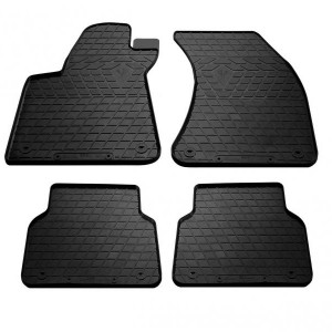 Комплект резиновых ковриков в салон автомобиля Audi A8 (D4) long 2010- (1030184)