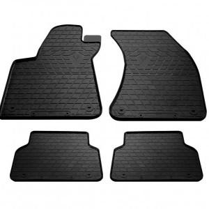 Комплект резиновых ковриков в салон автомобиля Audi A8 (D4) short 2010- (1030194)