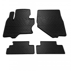 Комплект резиновых ковриков в салон автомобиля Infiniti QX70 13- (1033014)