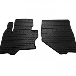 Передние автомобильные резиновые коврики Infiniti QX70 13- (1033012)
