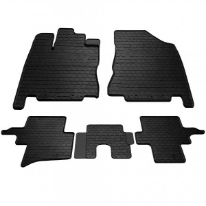 Комплект резиновых ковриков в салон автомобиля Infiniti QX60 2013- (1033055)