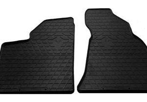 Передние автомобильные резиновые коврики Lada Priora 2000- (1036022)