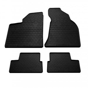 Комплект резиновых ковриков в салон автомобиля Lada Priora 2000- (1036024)