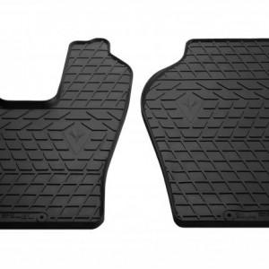Комплект резиновых ковриков в салон автомобиля Scania P 2004-2011 (1041022)