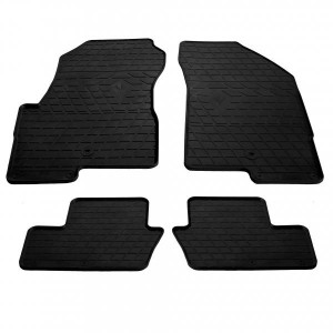Комплект резиновых ковриков в салон автомобиля Jeep Compass І 2006- (1046044)