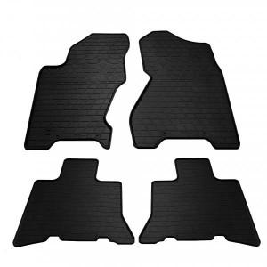 Комплект резиновых ковриков в салон автомобиля Jeep Grand Cherokee (WJ) (1998-2004) (1046074)