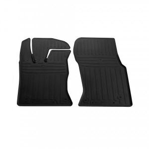 Передние автомобильные резиновые коврики Jaguar XF (X260) (special design 2017-) (1049032)
