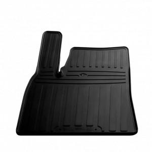 Водительский резиновый коврик Tesla Model S 2012- (special design 2017) (1050014 ПЛ)