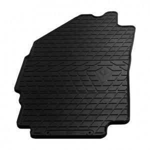 Водительский резиновый коврик Chevrolet Spark M300 2009- (1005044 ПЛ)