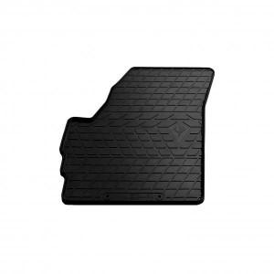Водительский резиновый коврик Chevrolet Spark (design 2016) (1005074 ПЛ)