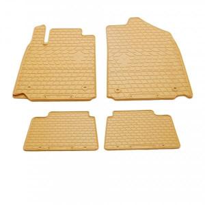 Комплект резиновых ковриков в салон автомобиля Lexus ES 2006- бежевые (2028034)