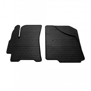 Передние автомобильные резиновые коврики Daewoo Lanos 1997-2017 (1005052)