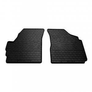 Передние автомобильные резиновые коврики Chery QQ 2003- (design 2016) (1005072)