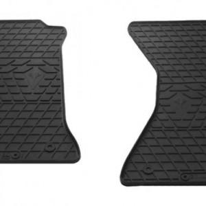 Передние автомобильные резиновые коврики Audi A4 (B9) 2015- (1030102)