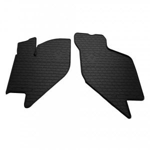 Передние автомобильные резиновые коврики Lada Kalina 2004- (1036032)