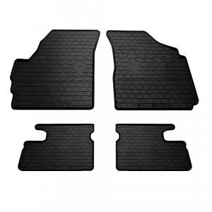 Комплект резиновых ковриков в салон автомобиля Chevrolet Spark (design 2016) (1005074)
