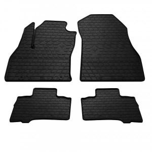 Комплект резиновых ковриков в салон автомобиля Fiat Fiorino 2007- (1006164)