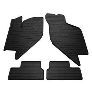 Комплект резиновых ковриков в салон автомобиля Lada Kalina 2004- (1036034)