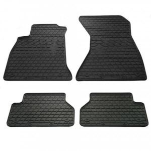 Комплект резиновых ковриков в салон автомобиля Audi A4 B9 (1030104)