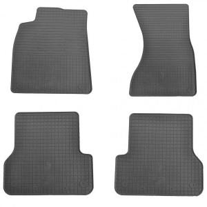 Комплект резиновых ковриков в салон автомобиля Audi A6 С7 (1030034)