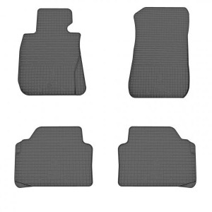 Комплект резиновых ковриков в салон автомобиля BMW 3 (E90/91/92/93) 2004-2013 (1027094)