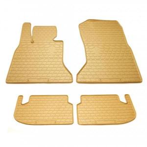 Комплект резиновых ковриков в салон автомобиля BMW 5 (F10/F11/F07/F18) 2013-2016 (2027154)