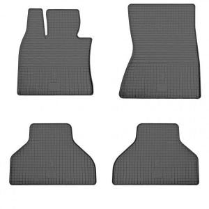 Комплект резиновых ковриков в салон автомобиля BMW X6 (E71) 2008-2014 (1027014)