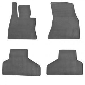 Комплект резиновых ковриков в салон автомобиля BMW X6 (F16) 2015-2019 (1027124)