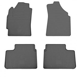 Комплект резиновых ковриков в салон автомобиля Chery QQ (1005024)