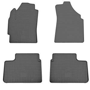 Комплект резиновых ковриков в салон автомобиля Chevrolet Spark (1005024)