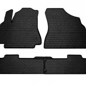 Комплект резиновых ковриков в салон автомобиля Citroen Berlingo 2008-2018 (1016174)