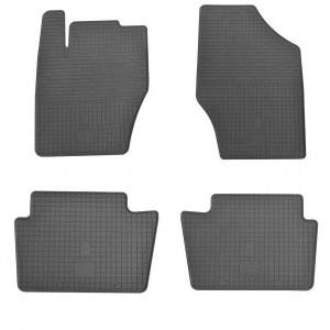Комплект резиновых ковриков в салон автомобиля Citroen C4 2010-2015 (1016084)