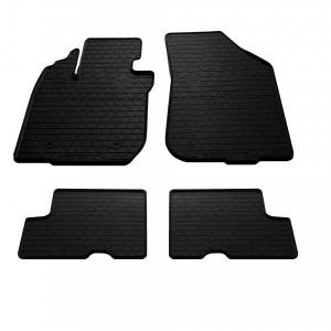 Комплект резиновых ковриков в салон автомобиля Dacia Renault Duster 2010-2015 (1004074)