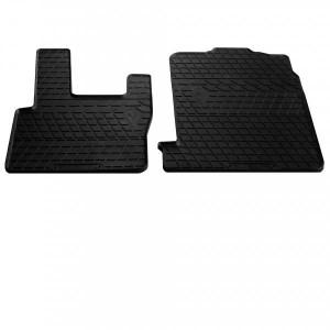 Передние автомобильные резиновые коврики DAF XF (2002-2006) (1039012)