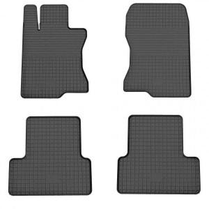 Комплект резиновых ковриков в салон автомобиля Honda Accord 8 2008-2013 (1008014)