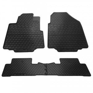 Комплект резиновых ковриков в салон автомобиля Honda Pilot 2008-2015 (1008084)