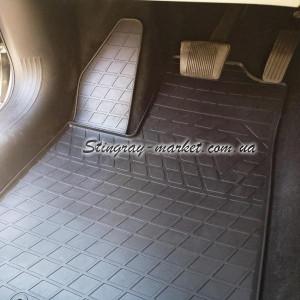 Комплект резиновых ковриков в салон автомобиля Chrysler 200 II (2014-2016) (1061014)