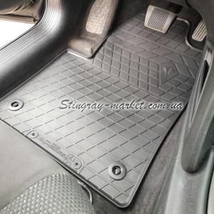 Комплект резиновых ковриков в салон автомобиля Dodge Dart (2012-2016) (1053044)
